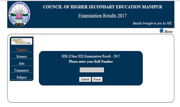 Manipur COHSEM Class 12th HSE Results 2017 To Be Declared At Manresults