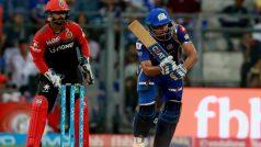 IPL 2018: Rohit Sharma, Evin Lewis Guide Mumbai to 46 Runs Victory Over Bangalore
