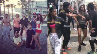 Khatron Ke Khiladi 8: Nia Sharma, Shibani Dandekar, Ravi Dubey and Manveer Gurjar  groove to Punjabi songs on the streets of Spain! (Watch Video)