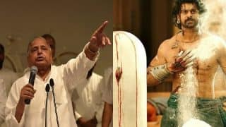 Mulayam Singh Yadav watches another family feud, this time in Bahubali 2