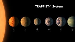 TRAPPIST-1 planets could have life in 10 years: Reports