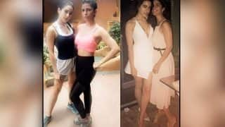 Sara Ali Khan and Nimrat Kaur are friends who workout hard and party harder – view pic