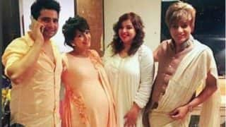 Karan Mehra's wife Nisha Rawal's baby shower pictures are too adorable to miss!