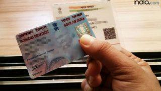 Linking PAN to Aadhaar card: Visit www.incometaxindiaefiling.gov.in to link your PAN to Aadhaar in 3 simple steps