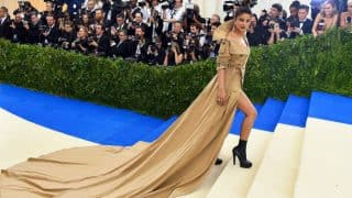MET Gala 2017: Priyanka Chopra wows with trench coat gown but Twitterati equate it to Swacch Bharat Abhiyan!