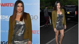 Priyanka Chopra's slinky, shiny look at the NYC Baywatch screening is every bit SEXY (see pictures)