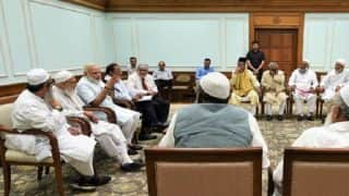Narendra Modi meets top Muslim clerics, appeals not to allow triple talaq to be politicised