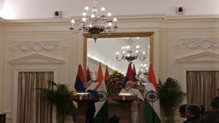 India, Mauritius sign maritime security agreement