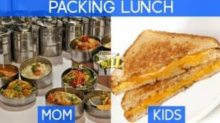 Mother's Day Special Pictures:  Moms vs Kids reactions to various situations in day-to-day life are hilarious!