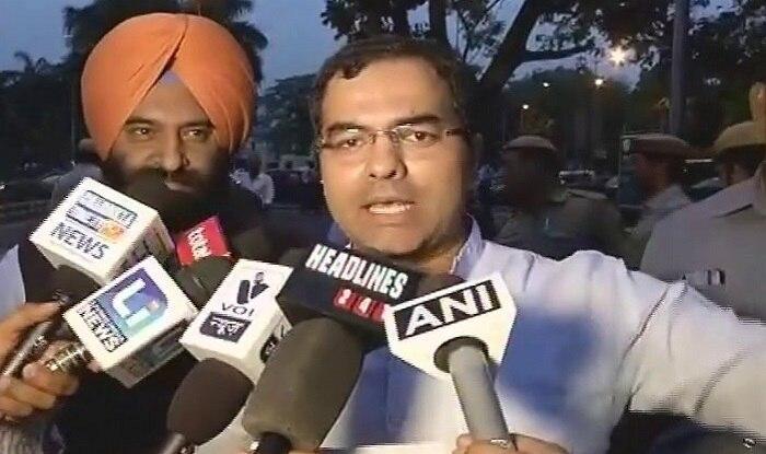 Delhi BJP protests outside Arvind Kejriwal's residence over water crisis