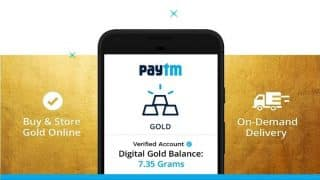Paytm Digital Gold: How to buy, sell, withdraw and store your precious gold purchased on Paytm app