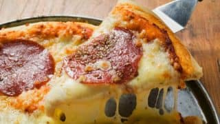 This Pizza Has Been Baked With 111 Types of Cheese. Salivating, Are You?