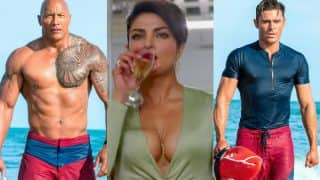 Priyanka Chopra comments on dick size of Dwayne Johnson and Zac Efron! Watch video of red-faced Baywatch star on WWHL Show