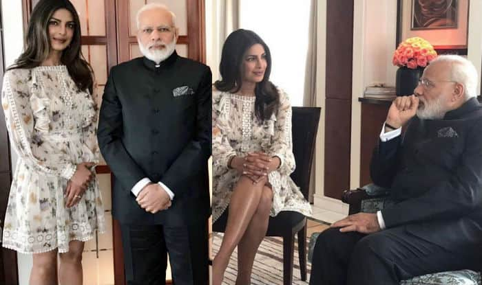 'Lovely coincidence' Modi meets Priyanka Chopra in Berlin