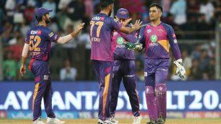 IPL 2017: मुंबई को 20 रन से हराकर पहली बार फाइनल में पहुंचा पुणे सुपरजाएंट