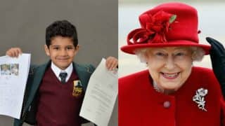 Indian-origin 4-year-old invites 'real-life superhero' Queen Elizabeth II to birthday, gets the sweetest reply!