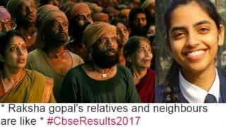 Raksha Gopal is CBSE Class 12th 2017 Topper scoring 99.6%! Noida Girl becomes butt of jokes after results and Merit List is declared!