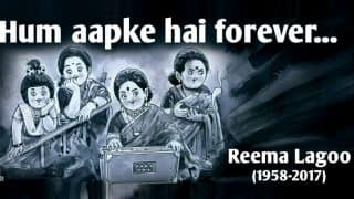 Tribute to Reema Lagoo: Amul pays heartfelt respect to 'Bollywood's much loved Ma' (See Picture)