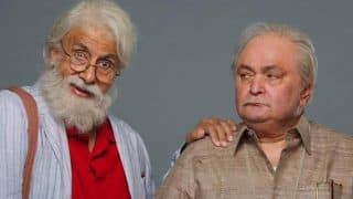 Amitabh Bachchan and Rishi Kapoor's 102 Not Out first look makes Twitter go berserk (See Picture)