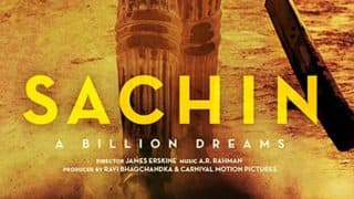 Sachin A Billion Dreams quick movie review: Film on Sachin Tendulkar's life journey will fill your heart with hope and pride