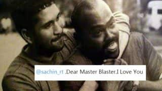 Vinod Kambli to Sachin Tendulkar: I Love You! Sachin: A Billion Dreams could not get a better response than this tweet!
