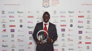 Sadio Mane wins Liverpool Player of the Year award