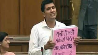 If EVMs of Gujarat provided to us for 3 hours, we will not let BJP win even a single booth: AAP MLA Saurabh Bhardwaj