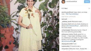 Smriti Irani debuts on Instagram, gives tough competition to Katrina Kaif by posting a nostalgic photograph!