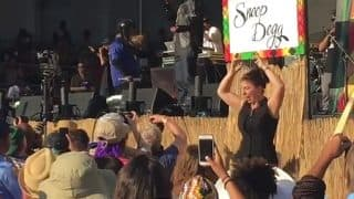 Rapper Snoop Dogg's sign language interpreter Holly Maniatty grabs limelight at music festival (Watch Video)
