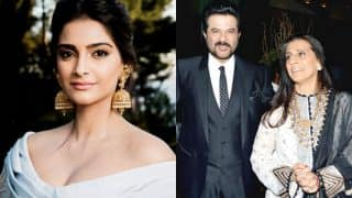Sonam Kapoor's post for her parents' 33rd wedding anniversary will warm your heart (View candid pic)