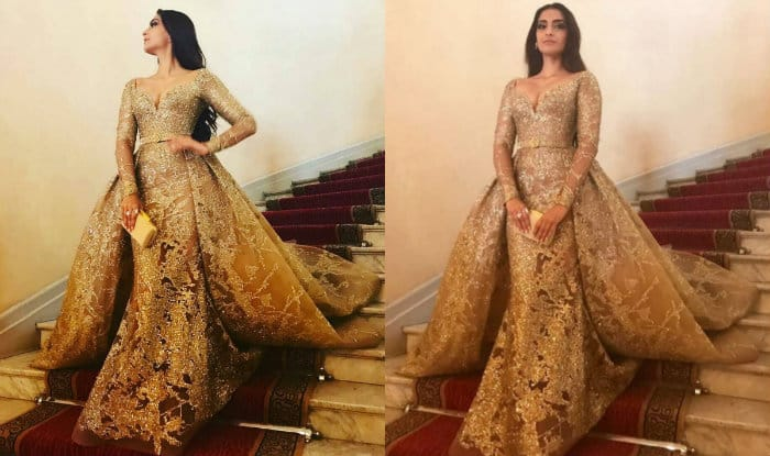 Cannes 2017 Sonam Kapoor Looked Like A Princess In The