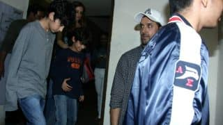 Hrithik Roshan, Sussanne Khan and their sons go on movie date! See Photos