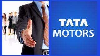 नोकरी: टाटा मोटर्स 40 हजार तरूणांना देणार प्रशिक्षण