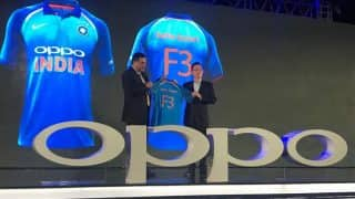 BCCI launches new Team India jersey before the 2017 ICC Champions Trophy