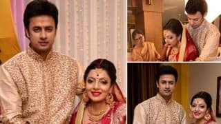 Jamai Raja actor Sandit Tiwari gets married to his girlfriend Priyankona Das!
