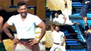 Terence Lewis suffers wardrobe malfunction while attempting a split on the sets of Nach Baliye 8! (Watch Video)
