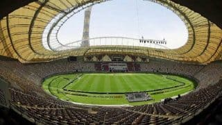 Air-conditioned stadium for 2022 Qatar World Cup is ready to host match