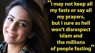 Pakistani actress Ushna Shah attacks people who fake being religious during Ramzan in Facebook post
