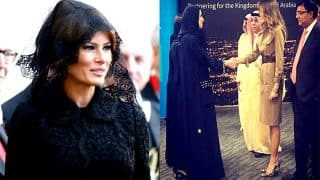 Melania Trump wore veil while meeting Pope Francis but not in Saudi Arabia, here's why