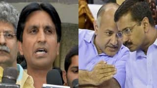 AAP crisis: Arvind Kejriwal, Manish Sisodia meet Kumar Vishwas to reconcile differences - 10 points