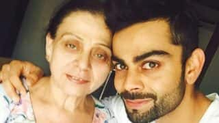 Virat Kohli wishes Mother's Day 2017 to mom Saroj and all mothers with an emotional yet supercool video!