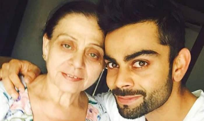 Image result for virat kohli with his father