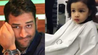 MS Dhoni's daughter Ziva's haircut video takes spotlight away from dad's embarrassing salary details revelation by Lalit Modi!