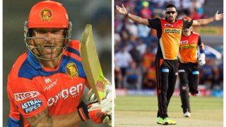 IPL 2017: प्लेऑफ के लिए आज कानपुर के ग्रीन पार्क स्टेडियम में गुजरात से संघर्ष करेंगे सनराइजर्स