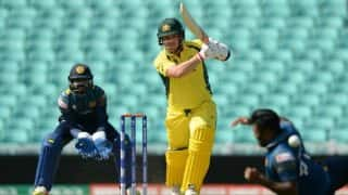 ICC Champions Trophy 2017, Warm-up: Aaron Finch hits ton as Australia beat Sri Lanka by 2 wickets