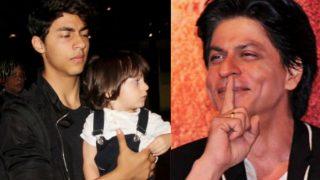 क्या अबराम शाहरुख़ खान नहीं बल्कि आर्यन के बेटे हैं? किंग खान ने खोला राज़