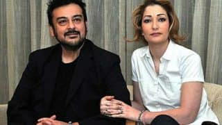 Singer Adnan Sami and his third wife Roya blessed with a baby girl!
