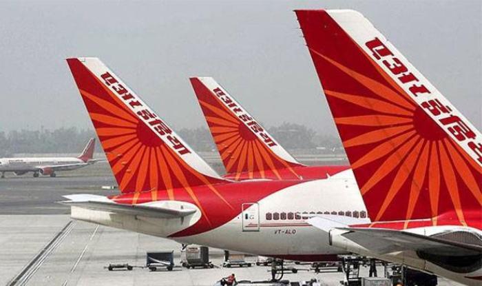 A fleet of Air India aircraft