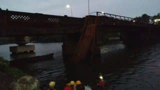 Goa: 50 fall into river after bridge collapses in Curchorem; rescue operation underway