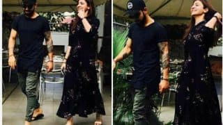 Anushka Sharma-Virat Kohli look a lot in love as they are SNAPPED on a romantic lunch date (see pics)